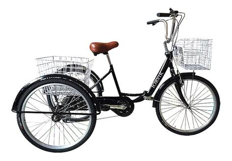 """JORVIK 24"""" - 3 Wheel Folding Adults Tricycle! Disabled"""