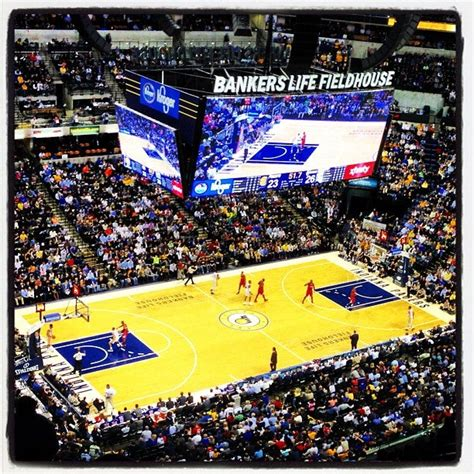 Bankers Life Fieldhouse at 125 S Pennsylvania St (at E