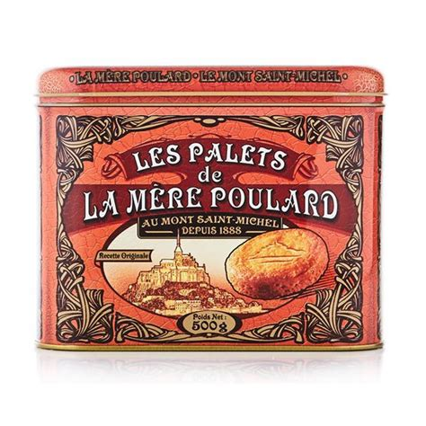 Palets Butter Cookies in a Large Tin   Try The World