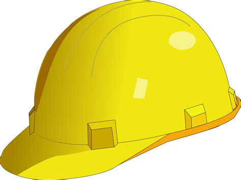 Yellow safety helmet for builder & hewer | Free PSD,Vector
