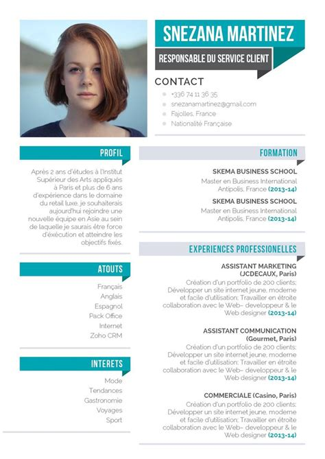 Profil cv exemple etudiant | boost your chances of getting ...